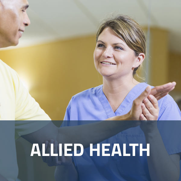 Allied Health Career Opportunities